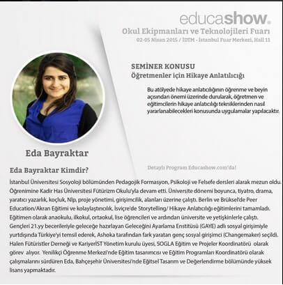 Eda Bayraktar Educashow