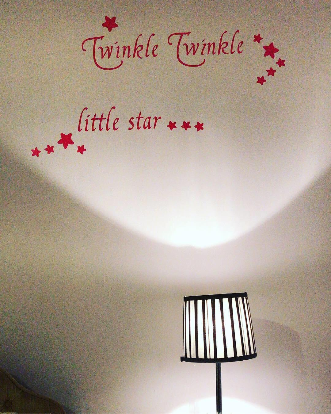 Twınkle twınkle, lıttle star!